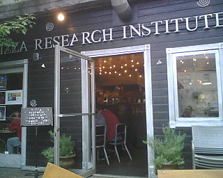 Pizza Research Institute, Eugene Oregon - Store Front