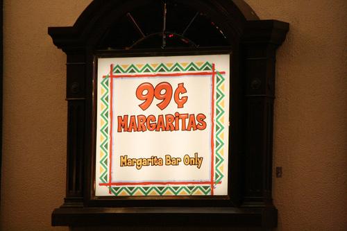 Las Vegas 99 Cent Margaritas
