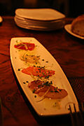 Nove Italiano at the Palms Hotel - The Crudo Plate