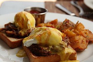 BLD - Braised Pork Shank Poached Eggs