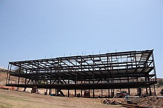 Moorpark College Academic Center Structural Steel by Ironman, Inc. - Full View