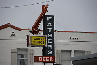 Fathers Office - Sign