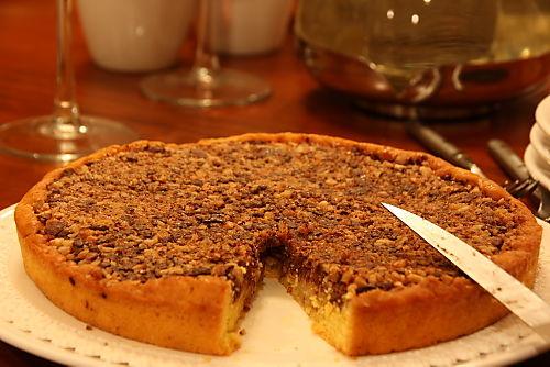 Torta 1920 - Missing Slice of Italian Chocolate Cake with Rum