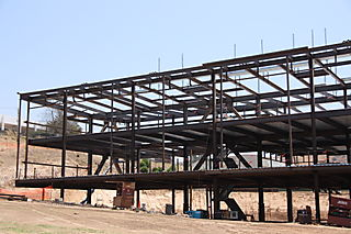 Moorpark College Academic Center Structural Steel by Ironman, Inc. - Left View