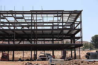 Moorpark College Academic Center Structural Steel by Ironman, Inc. - Right View