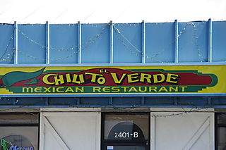 Chilito Verde Bakersfield - Sign