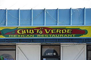 Chilito Verde Bakersfield - Sign