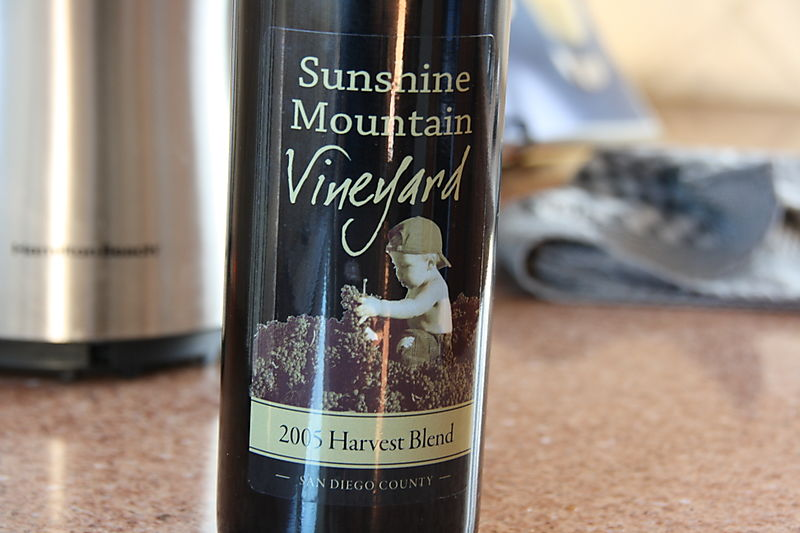 Sunshine Mountain Vineyard