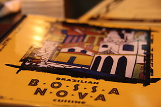 Bossa Nova - Menu Cover