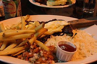 Bossa Nova - Skirt Steak with Two Fried Eggs