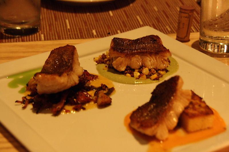 Culatello Dinner at BLD - Fish Tasting using Ling Cod