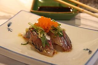 Honshu Sushi - Prepared Aji