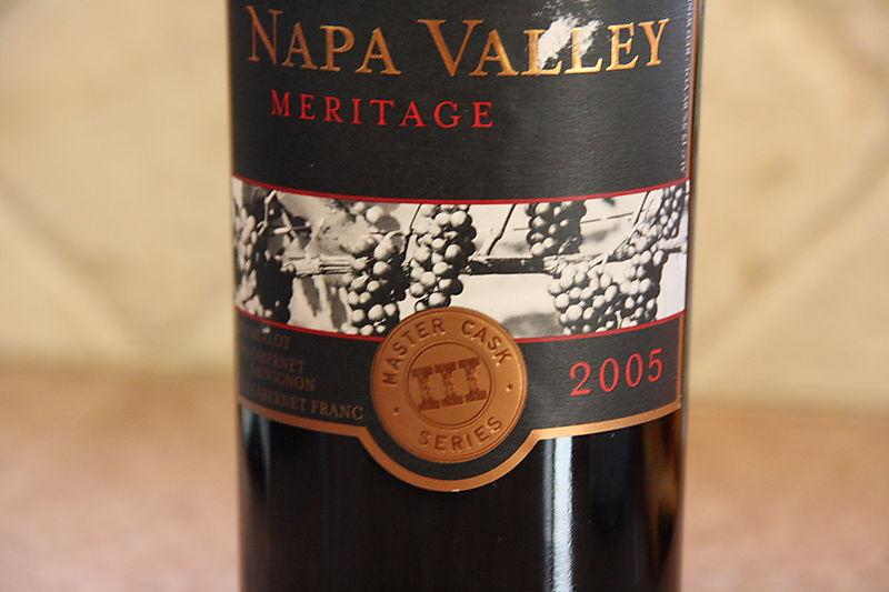Red Wine - Costco Brand Napa Valley Meritage 2005 1