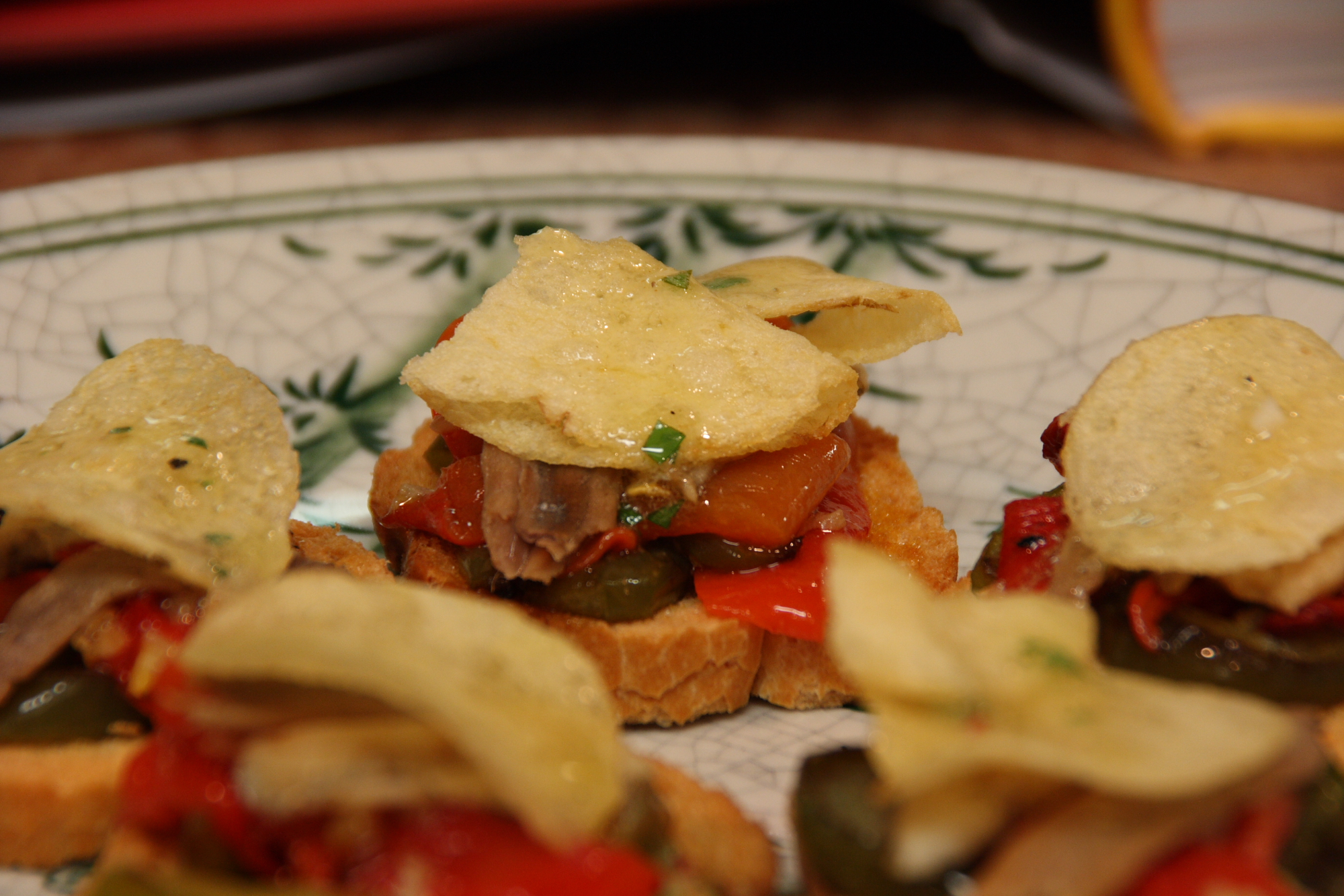 Spain and The World Table - Anchovy Bocadillos - The Results 7