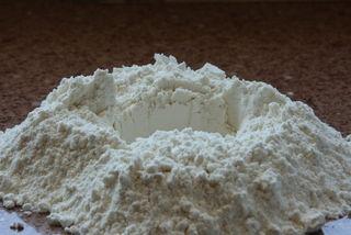 Fresh Pasta - Make a hole in the flour