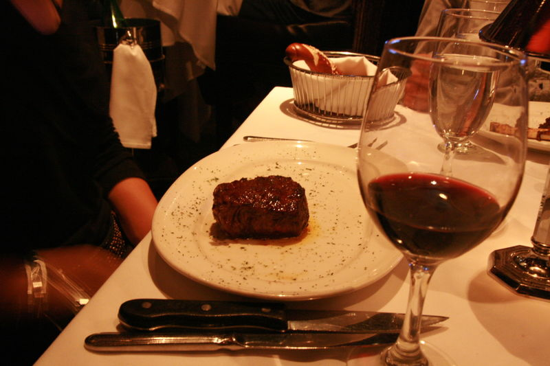 Mastro's Steakhouse - Limor's Petite Filet