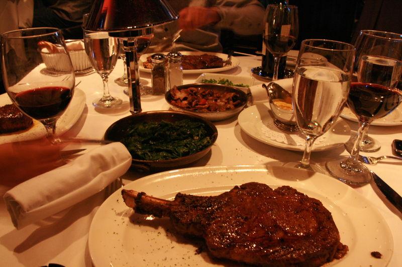 Mastro's Steakhouse - My Bone In Ribeye Chop