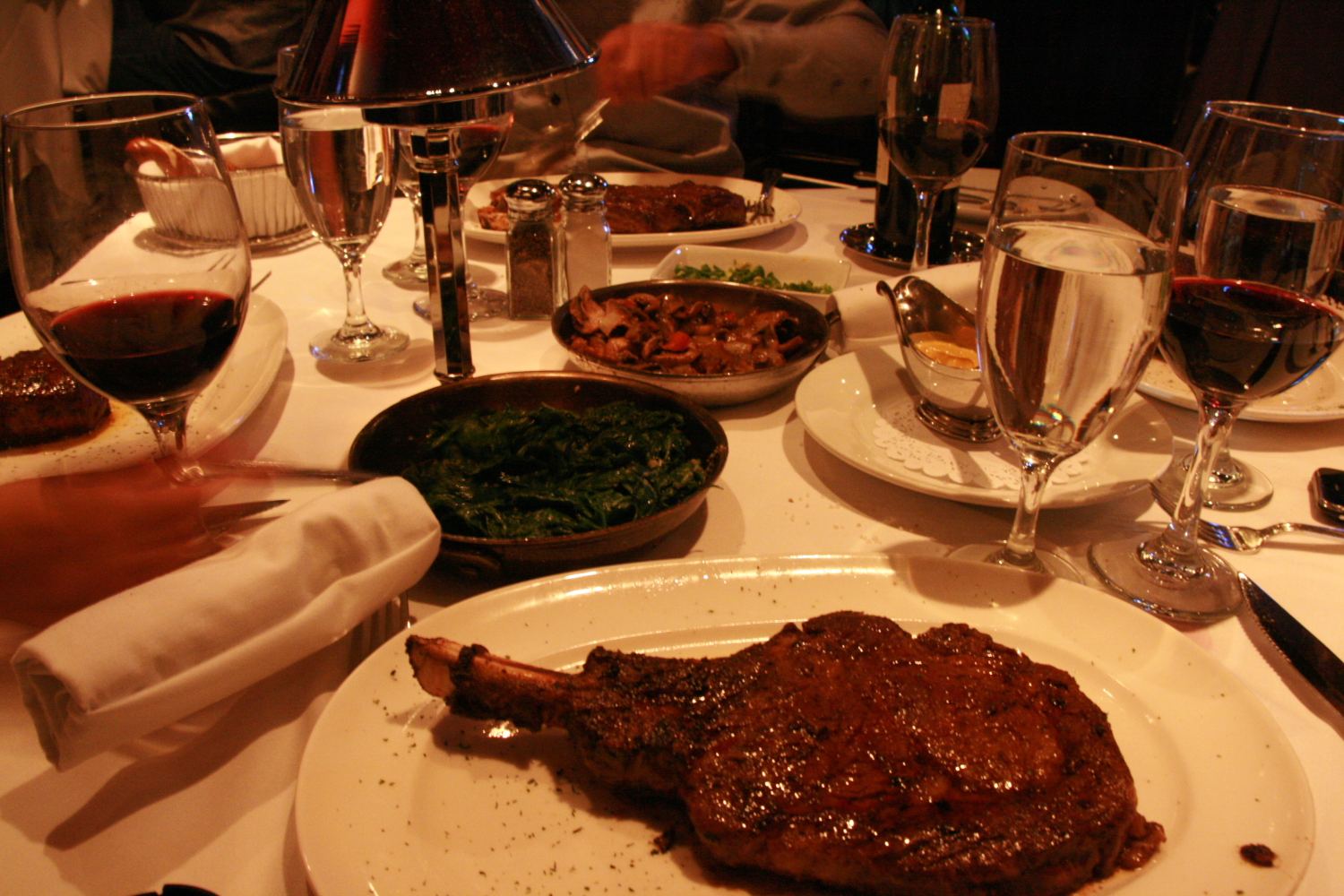 Mastro's Steakhouse - My Bone In Ribeye Chop