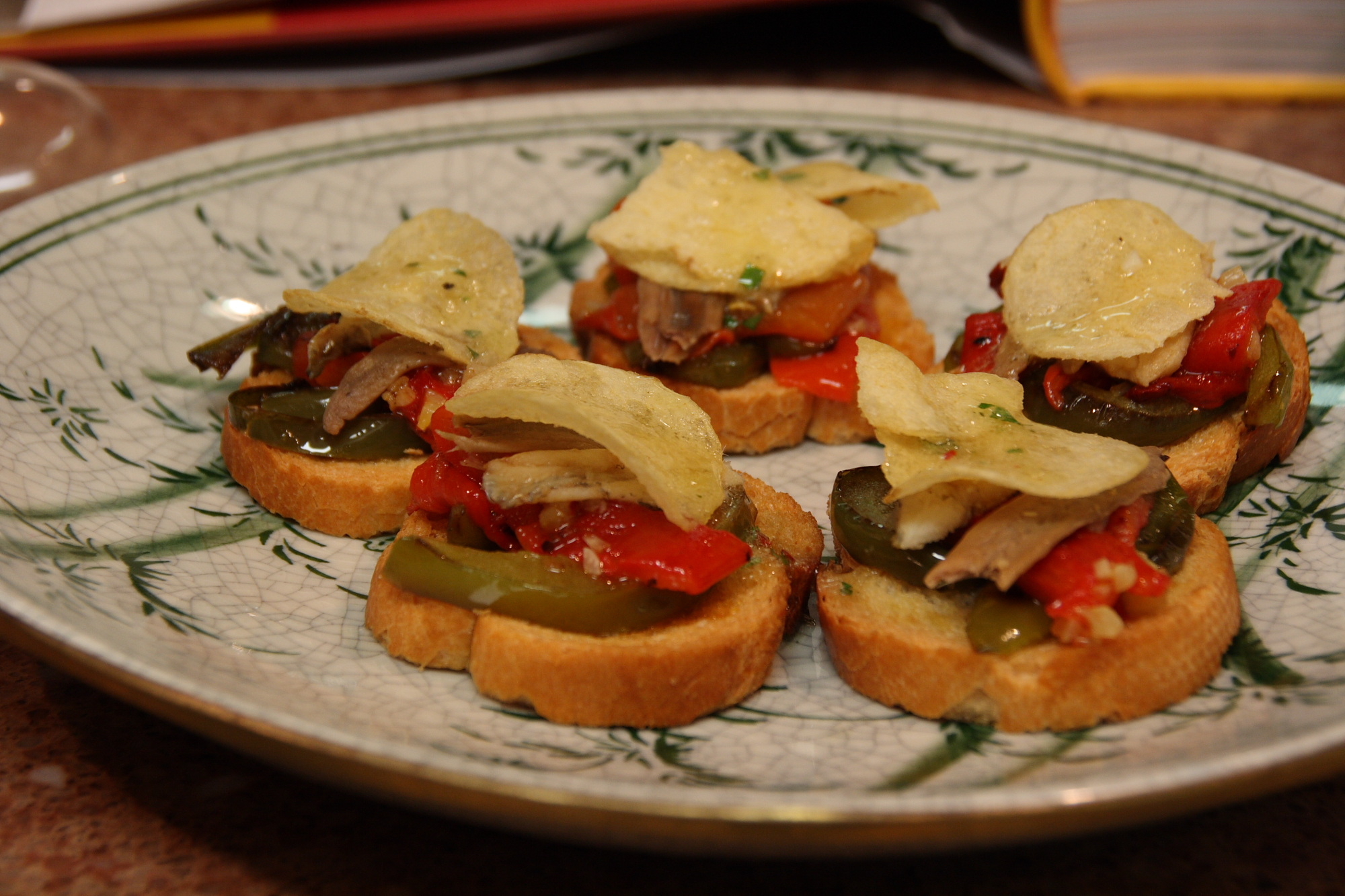 Spain and The World Table - Anchovy Bocadillos - The Results 6