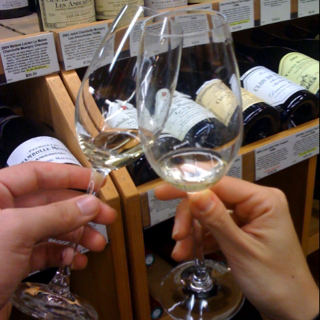 Champagne Tasting at Wally's Wine